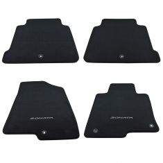 15-16 Hyundai Sonata Embroidered ~SONATA~ Black Carpeted Floor Mat Kit (Set of 4) (Hyundai)