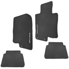 11-15 Kia Optima Embroidered ~OPTIMA~ Frnt & Rear Blk Carpeted Custom Floor Mat Kit (Set of 4) (Kia)
