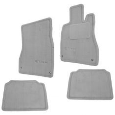 01-06 Lexus LS430 Embroidered ~Lexus~ Charcoal Carpeted Floor Mat Kit (Set of 4) (Lexus)
