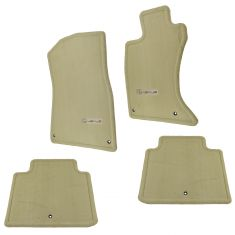 06 GS300 AWD; 07-11 GS350 AWD Embroidered ~Lexus~ Cashmere Carpeted Floor Mat Kit (Set of 4) (Lexus)