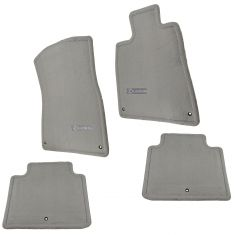 06 GS300; 06-11 GS350, GS450h; 09-11 GS460 2WD Emb ~Lexus~ Ash Crpt Floor Mat Kit (Set of 4) (Lexus)