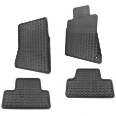 06-13 Lexus IS250, IS350 RWD Molded Black Rubber ~LEXUS~ Logoed Floor Mat Kit (Set of 4) (Lexus)