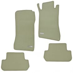 04-09 Mercedes Benz CLK Class Coupe Pebble Beige Carpeted Floor Mats (Set of 4) (Mercedes Benz)