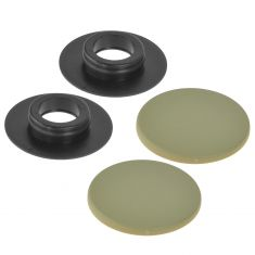 Mercedes Benz Multifit Floor Mat Beige Retention Button Clip SET (Mercedes Benz)