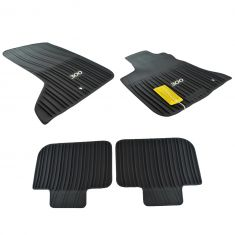 11-14 Chrysler 300 w/AWD Mld Blk Rubber ~300~ Logoed All Weather Slsh Flr Mat Kit (Set of 4) (Mopar)