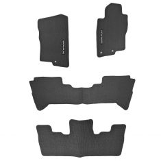 05-12 Nissan Pathfinder (w/3 Row Seating) Charcoal Carpeted Floor Mats (Set of 4) (Nissan)