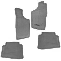 00-04 Nissan Xterra Gray Carpeted Embroidered