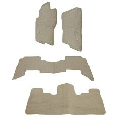 05-08 (to 10/7/07) Pathfinder Beige Carpeted ~PATHFINDER~ Logoed Floor Mat Kit (Set of 4) (Nissan)