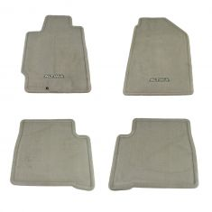02-06 Nissan Altima Frost Gray Carpeted ~ALTIMA~ Logoed Floor Mat Kit (Set of 4) (Nissan)