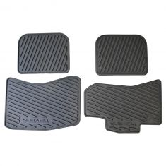 05-09 Subaru Outback Mld Black Rubber ~SUBARU~ Logoed All Weather Floor Mat Kit (Set of 4) (Subaru)