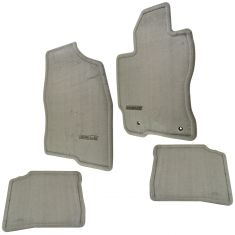 04-09 Toyota Prius Front & Rear Dark Bisque Carpet Floor Mat Set (4 Piece)