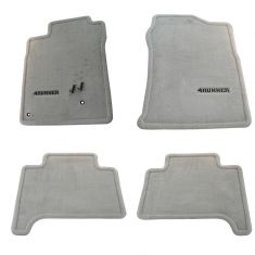 03-09 Toyota 4Runner Embroidered ~4RUNNER~ Stone Gray Carpeted Floor Mat Kit (Set of 4) (Toyota)