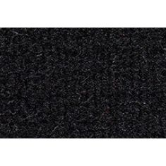 Universal Pre-Nibbed Floormat Kit 801-Black Cutpile Front & Rear (Set of 4)
