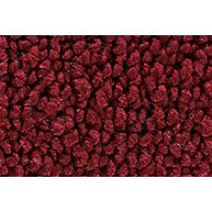 67-72 Chevy, GMC PU Std Cab (w/o Flr Shift) Maroon 80/20 Loop Front Floor Mat (1 Pce)
