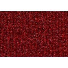 74-86 Chevy, GMC C/K; 87 R/V PU w/Low Tunnel Oxblood Cutpile Front Row Floor Mat (1 Pce)