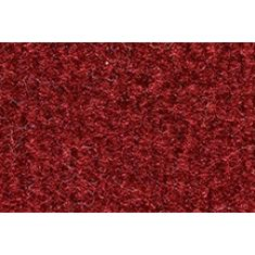 74-86 Chevy, GMC C/K; 87 R/V PU w/Low Tunnel Dark Red / Carmine Cutpile Front Row Floor Mat (1 Pce)