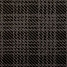 1965-66 Plymouth Fury Trunk Mat - 01V Gray Plaid Vinyl