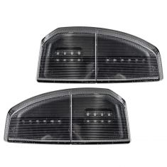 07-16 Tundra (w/OE & CC Tow Mirror Edge Mtd) Smoked Turn Signal & Marker Light Lens Assembly PAIR