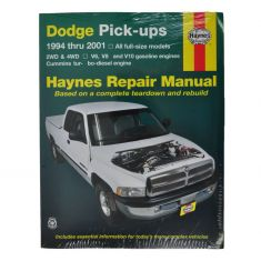 Dodge Ram Pickup Haynes Repair Manual