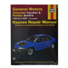 Chevy Pontiac Cavalier Sunfire Haynes Repair Manual