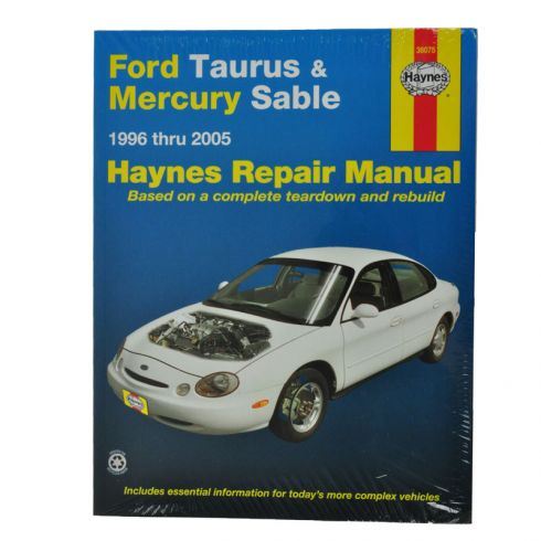 1996 05 ford taurus mercury sable haynes repair manual 1amnl00014 rh 1aauto com 1999 Mercury Sable 1993 Mercury Sable