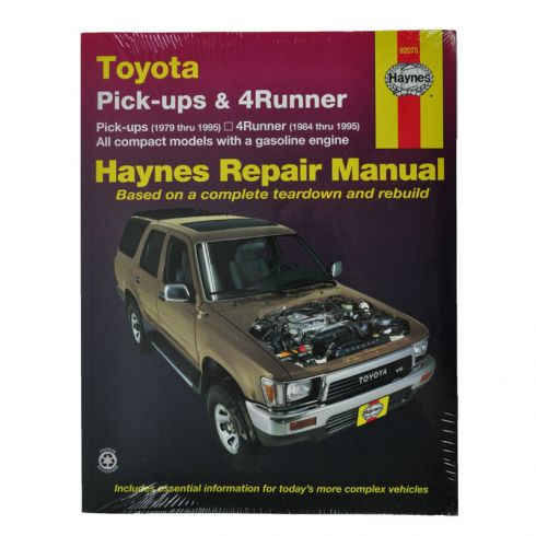 1979 95 toyota 4runner pickup haynes repair manual 1amnl00018 at rh 1aauto com 1995 toyota 4runner repair manual 1995 toyota 4runner repair manual free download