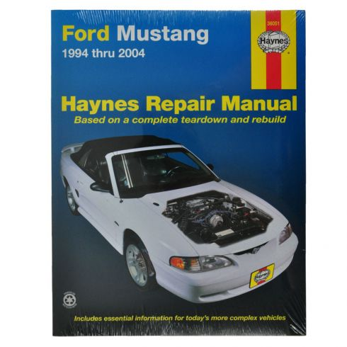 1994 04 ford mustang haynes repair manual 1amnl00023 at 1a auto com rh 1aauto com ford mustang haynes repair manual pdf ford mustang haynes repair manual for 1994 thru 2004 pdf