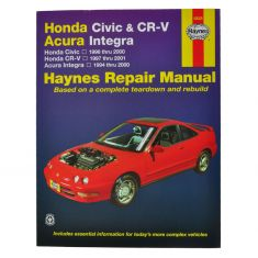 CR-V Haynes Repair Manual