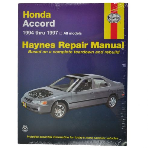 1996 Honda Accord Repair Manuals 1996 Honda Accord Auto border=
