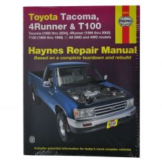 4Runner T100 Haynes Repair Manual