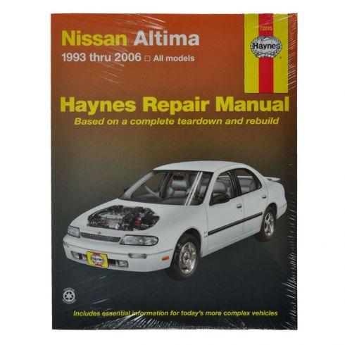 1993 04 nissan altima haynes repair manual 1amnl00060 at 1a auto com rh 1aauto com haynes manual nissan altima 2008 nissan altima haynes manual