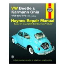 1954-79 VW Beetle Karmann Ghia Haynes Repair Manual
