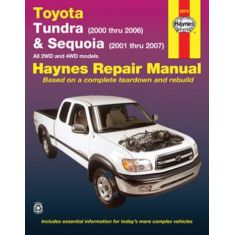 2000-05 Toyota Tundra Sequioa Haynes Repair Manual