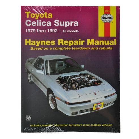 1979 92 toyota celica supra haynes repair manual 1amnl00111 at 1a rh 1aauto com 86 Toyota Celica 1990 Toyota Celica