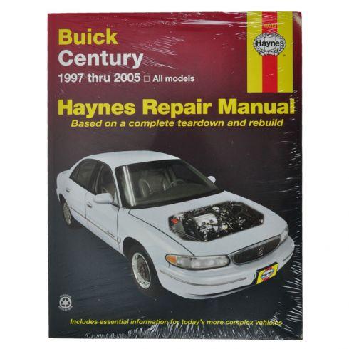 1997 05 buick century haynes repair manual 1amnl00113 at 1a auto com rh 1aauto com Car ManualsOnline Product Factory Service Manuals