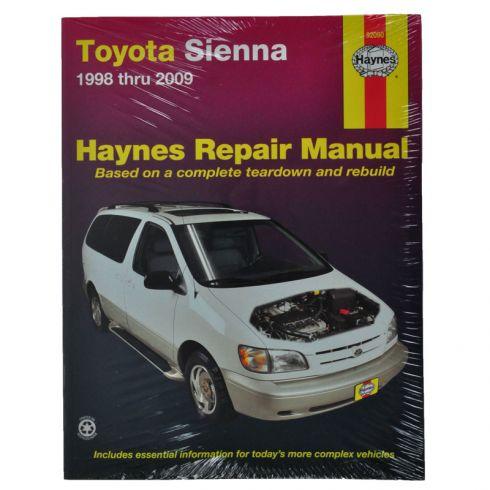 1998 02 toyota sienna haynes repair manual 1amnl00118 at 1a auto com rh 1aauto com haynes manual 2004 toyota sienna Haynes Manuals UK