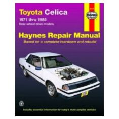 1971-85 Toyota Celica Haynes Repair Manual