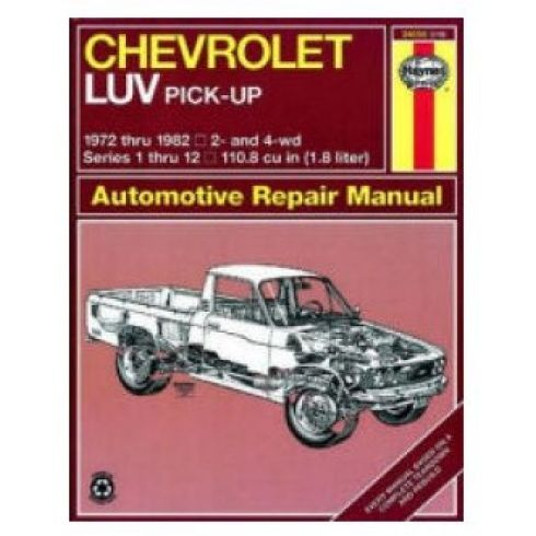1972 82 chevy luv pickup haynes repair manual 1amnl00186 at 1a rh 1aauto com chevy luv manual transmission chevy luv manual transmission