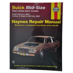 Regal Haynes Repair Manual