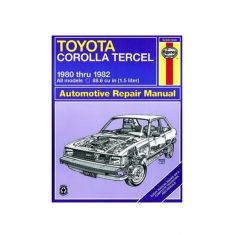1980-82 Toyota Corolla & Tercel Haynes Repair Manual