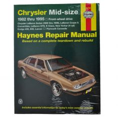 Chrysler Mid-Size Sedans FWD Haynes Repair Manual