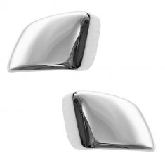 04-12 Nissan Titan (w/Tow Mirror) Chrome Mirror Cover Upgrade PAIR (Clip On)