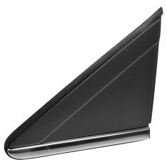 08-15 Grand Caravan, Town & Country Exterior Mirror Black Applique Bezel w/Chrome Trim LF (Mopar)