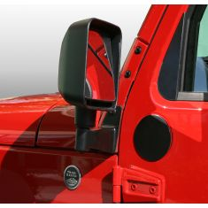 Mirror Filler Plates, Pair, 07-14 Jeep Wrangler (JK)