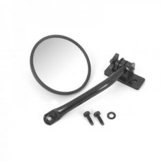 Quick Release Mirror Relo Kit (ea), Black, 97-14 Jeep Wrangler