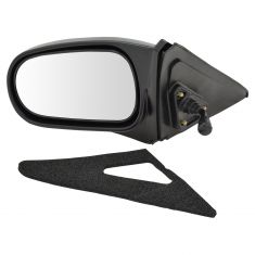 96-00 Civic 2dr Manual Mirror LH