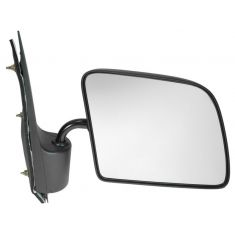 94-06 Ford E Series Van Manual Mirror w/Non Convex Glass RH