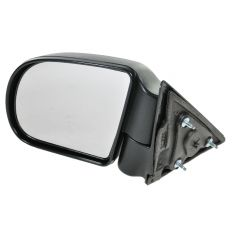 98-04 S10 Man Blk Mirror LH