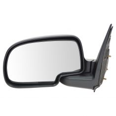 99-07 GM PU Truck Manual Mirror Textured Blk LH