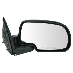 99-07 GM PU Truck Manual Mirror Textured Blk RH